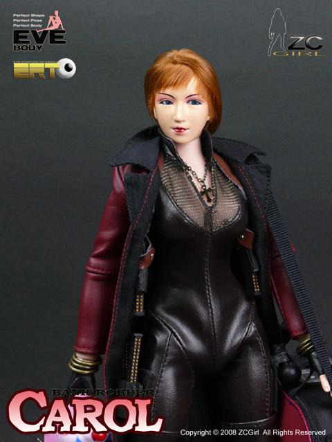 Bank Robber - Carol - Female Base Body w/Interchangeable Torso