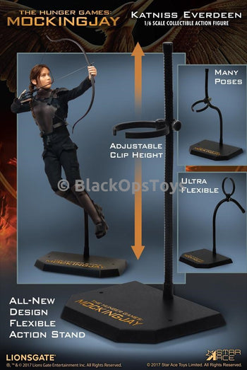 Hunger Games Katniss Everdeen Action Pose Body Figure Stand