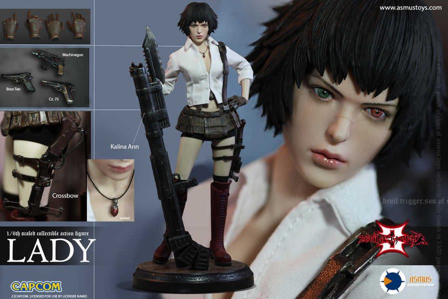 Devil May Cry 3 - Lady - Female Base Body