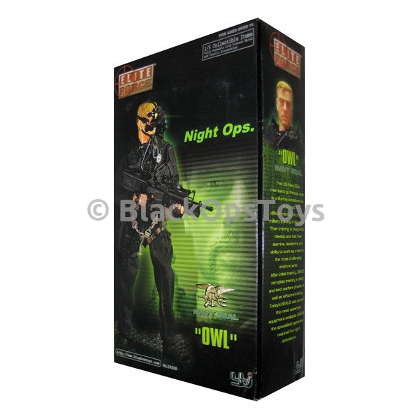 NAVY SEAL Night Ops Owl Mint In Box