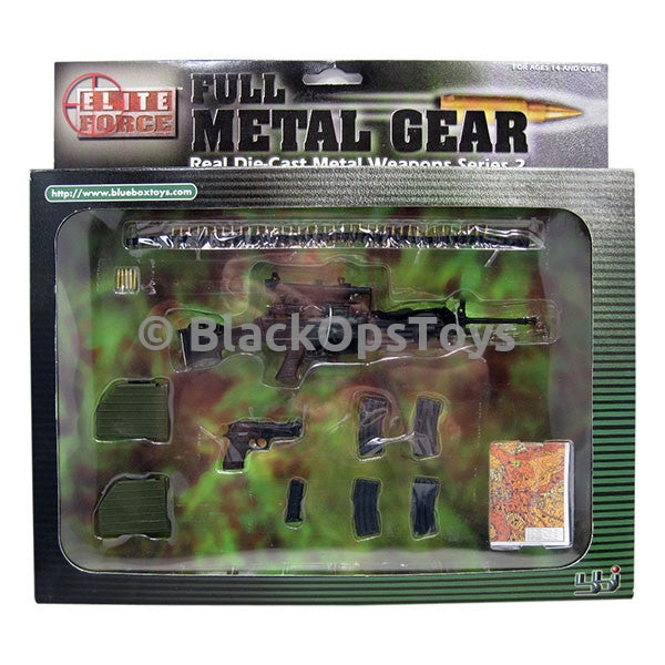 """Full Metal Gear"" Weapons Series 2 MINT IN BOX"