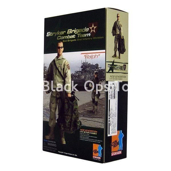 """1//6 scale Dragon US Soldier Woodland Camo Butt Pack for 12/"""" action figure use"""