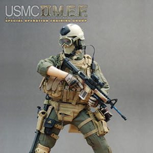 U.S.M.C.  M.E.F. - Male Head Sculpt