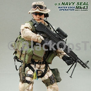 U.S. NAVY SEAL WATER EDGE OPERATION - Mk43 MOD 0 Gunner