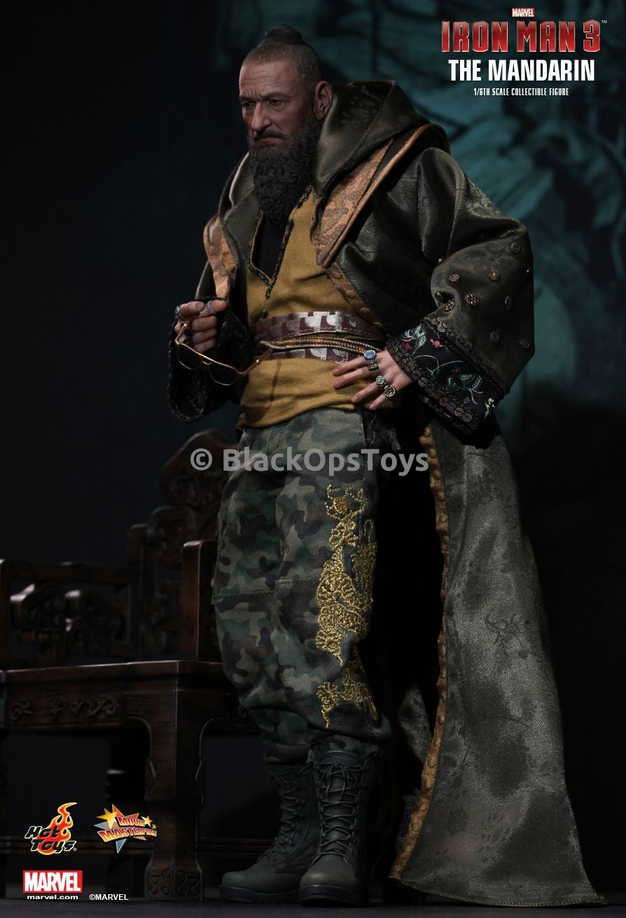 Hot Toys Iron Man The Mandarin Headsculpt