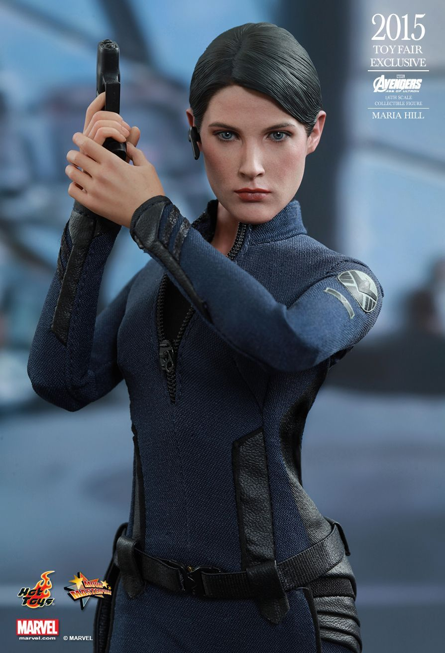 Avengers Age of Ultron Exclusive Edition Maria Hill Female Head Sculpt & Instruction Sheet