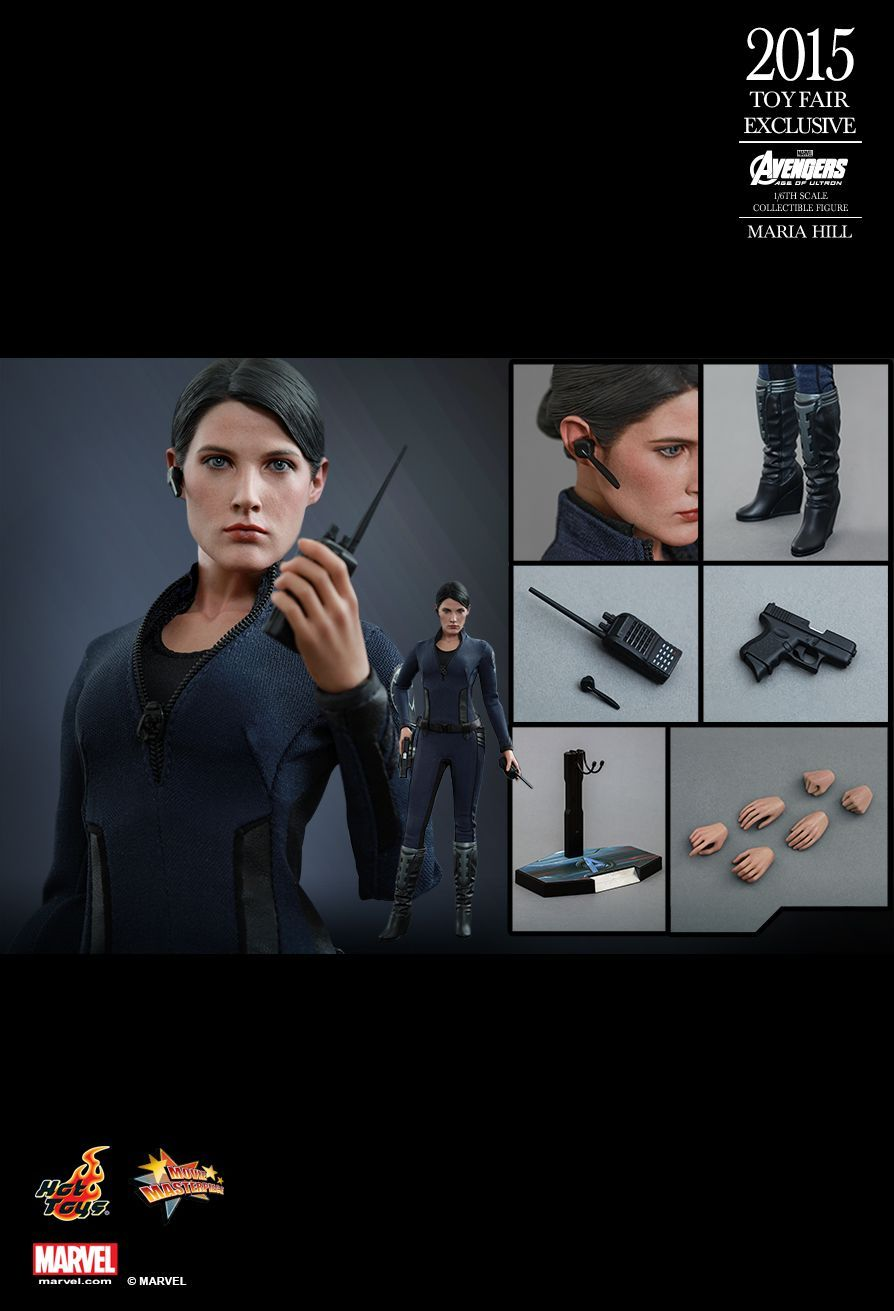 Avengers Age of Ultron Exclusive Edition Maria Hill Mint In Box