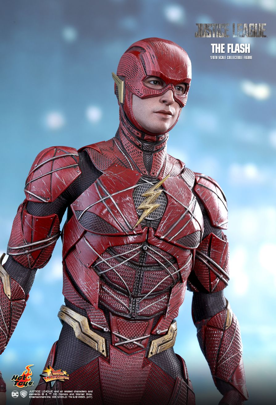 Justice League - The Flash - Male Base Body w/Red Suit