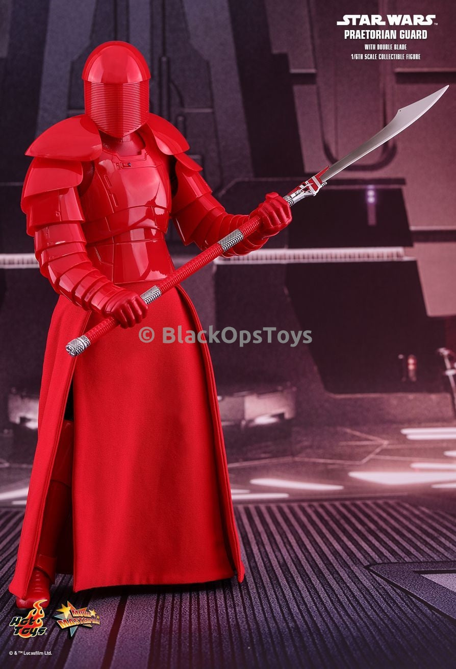 STAR WARS Double Blade Praetorian Guard Crimson Head Sculpt