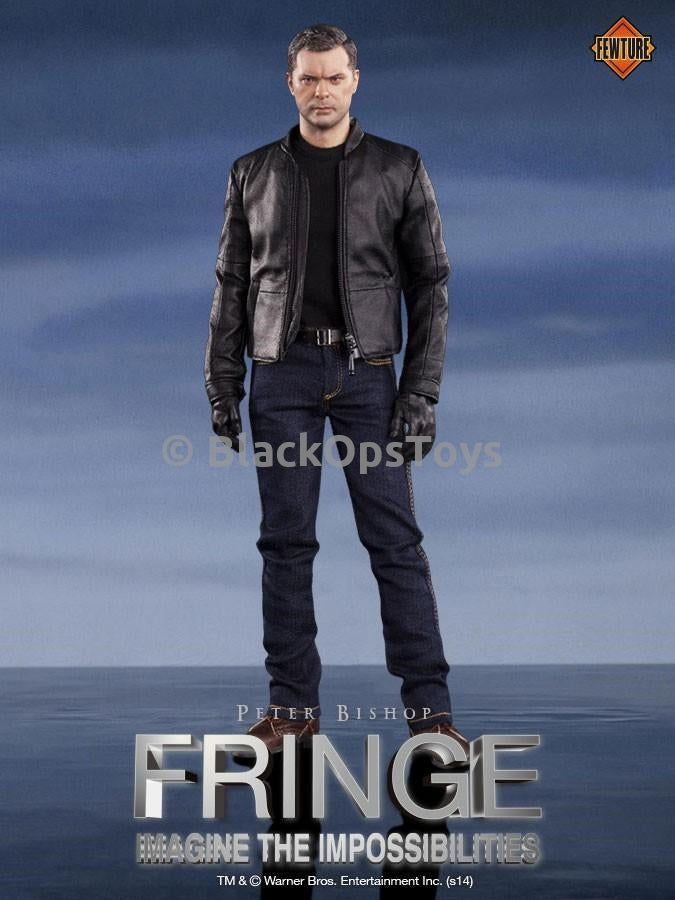 FRINGE - Peter Bishop - Pair of Black Socks