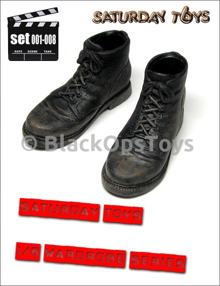 CIA/PMC Wardrobe Series Set 008 Weathered Foot-Type Boots