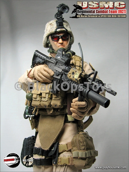 USMC RCT 6th Marine Regiment in Operation Iraqi Freedom MIB