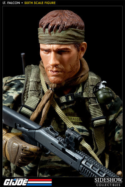 GI JOE - Lt. Falcon - Male Base Body w/Head Sculpt