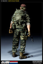 GI JOE - Lt. Falcon - Tiger Stripe Camo Uniform Set