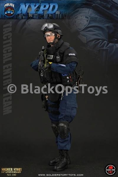 Police ESU Tactical Entry Team - Leather-Like Double Ammo Pouch