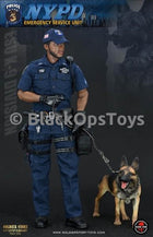 Police ESU K-9 Division - African American Male Base Body w/Head