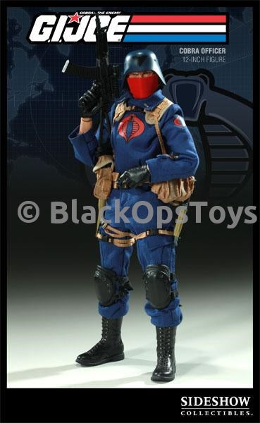 GI JOE - Blue Cobra Officer AK47 w/Collapsible Stock