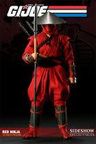 GI JOE - Cobra - Red Ninja - Red Leg Armor