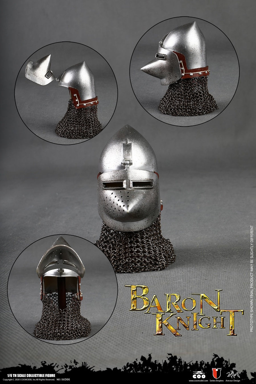 Series of Empires - Die-Cast Alloy Baron Knight - MINT IN BOX