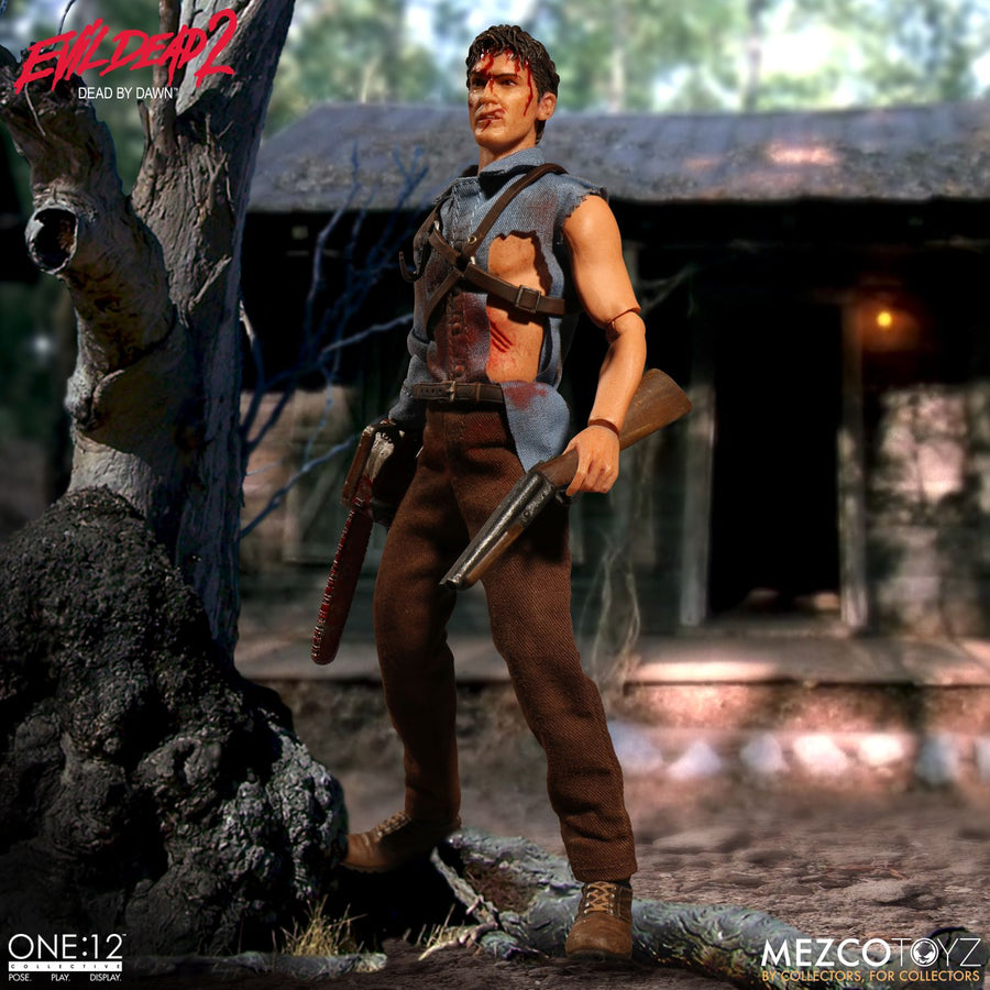 1/12 - Evil Dead 2 - Ash Williams - Male Body w/Uniform & Boots