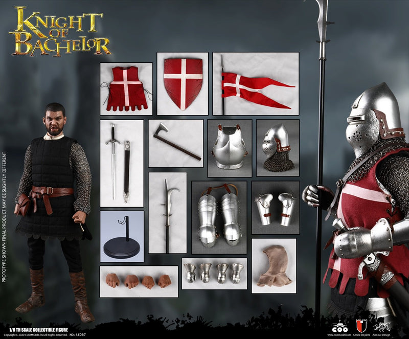 Knight Of Bachelor - Black Tunic