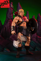 He Man - Brown Wrist Gauntlets