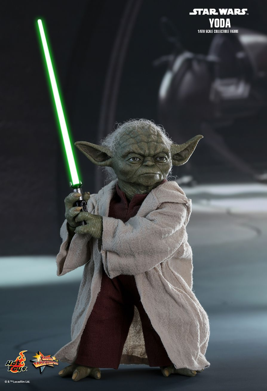 STAR WARS - Yoda - Blue Lightning Effect FX Type 1