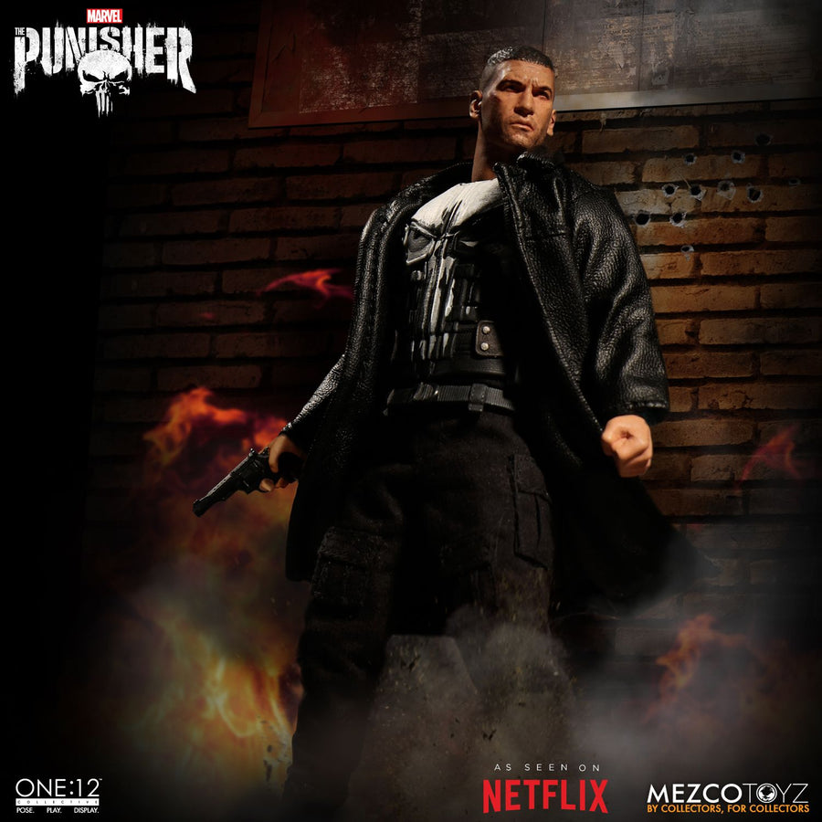 1/12 - The Punisher - Black M134 Minigun w/Ammo Belt