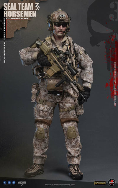 US Seal Team 3 Horsemen - 2016 - Exclusive - MINT IN BOX