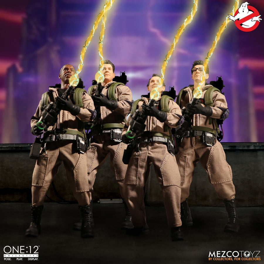 Ghostbusters Figure Base Stand w//Logo 1//12 Scale Toy
