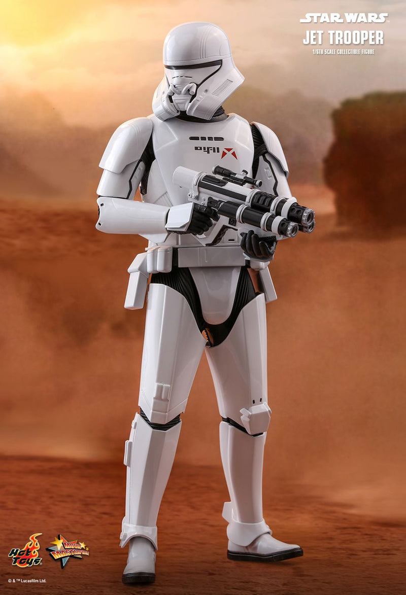 Star Wars - Jet Trooper - White & Black Gloved Hand Set