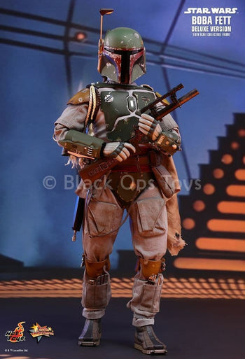 Star Wars - Boba Fett - Deluxe Version - MINT IN BOX