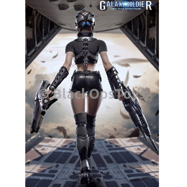 Female Galaxy Soldier Knee pads