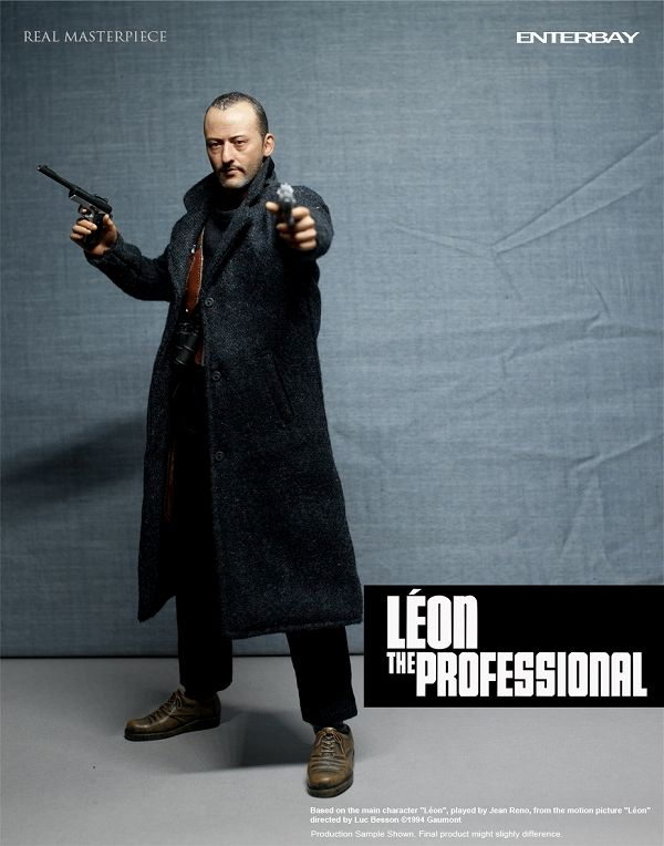 Léon The Professional - Brown Leather-Like Case (READ DESCR)