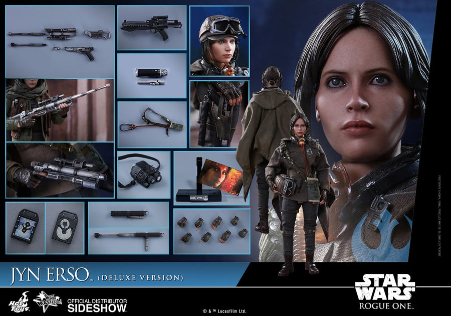 Star Wars - Rogue One - Jin Erso Deluxe Edition - MIOB (Read Desc)