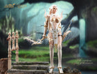 Elf Queen Emma - Female White & Gold Torso Armor w/Chains