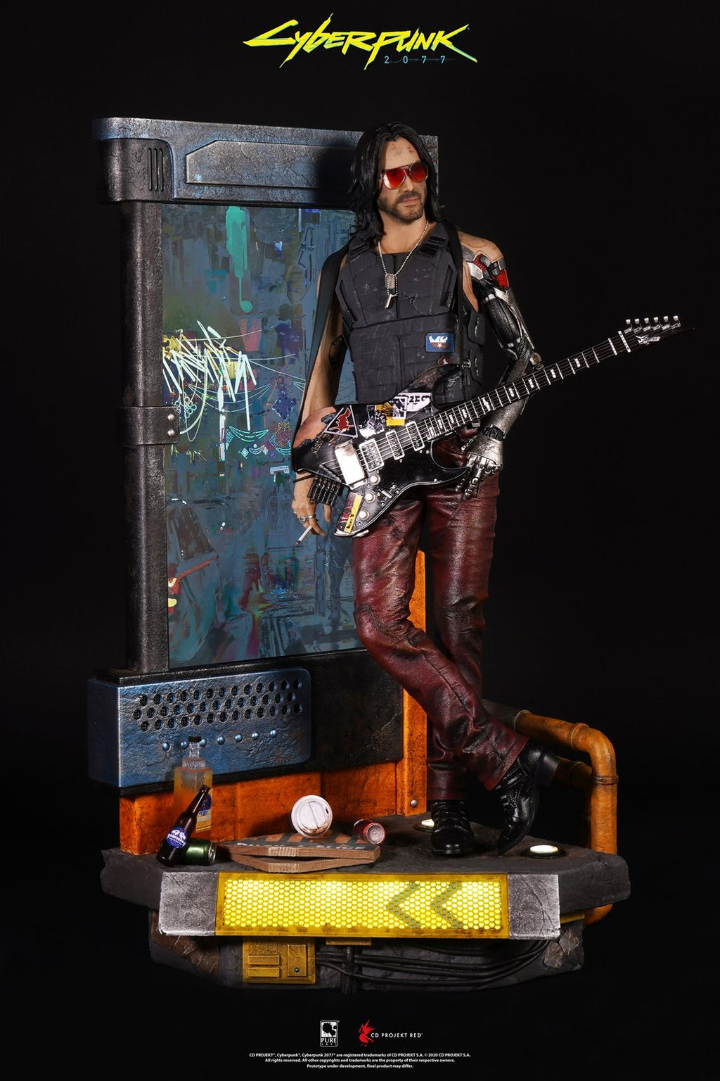 PREORDER - 1/4 - Cyberpunk 2077 - Johnny Silverhand - MINT IN BOX