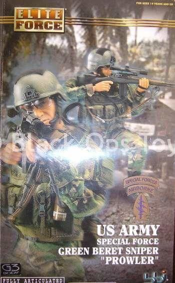U.S. Army - Green Beret Sniper - Male Base Body w/Head Sculpt