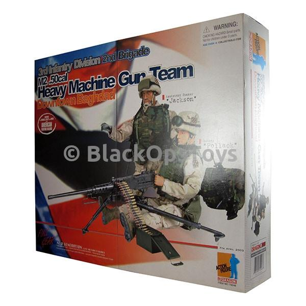 Heavy Machine Gun Team - Male Base Body w/Uniform Set