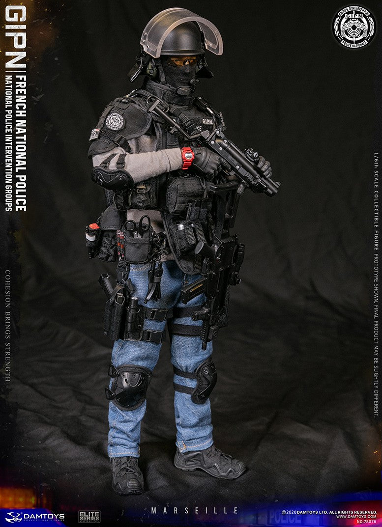French GIPN Police - Red Watch
