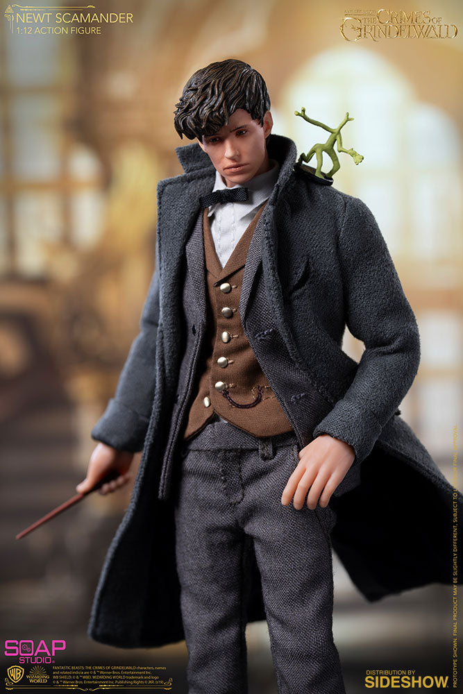 1/12 - Newt Scamander - Weathered Brown Boots (Peg Type)