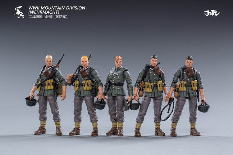 1/18 Scale - WWII Wehrmacht Mountain Division Set - MINT IN BOX