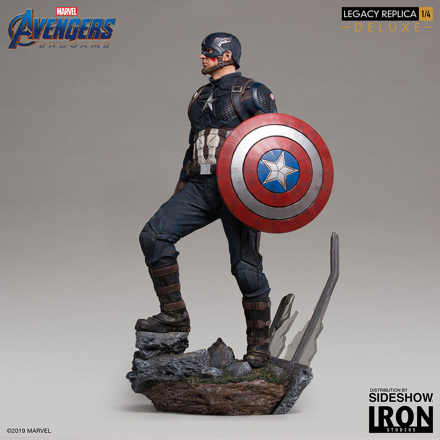 1/4 - Avengers: Endgame - Captain America DLX Statue - MINT IN BOX
