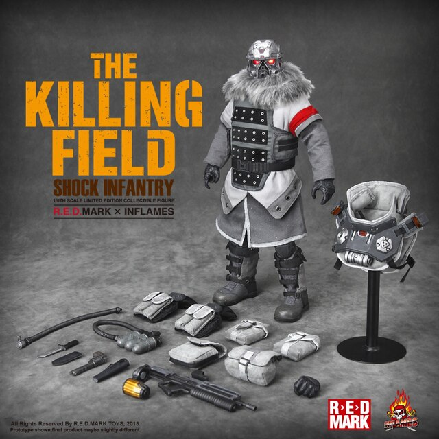 The Killing Field - Shock Infantry - MINT IN BOX