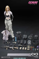 Combat Girl Series Gemini & Pisces Complete 4-Pack Set - MINT IN BOX