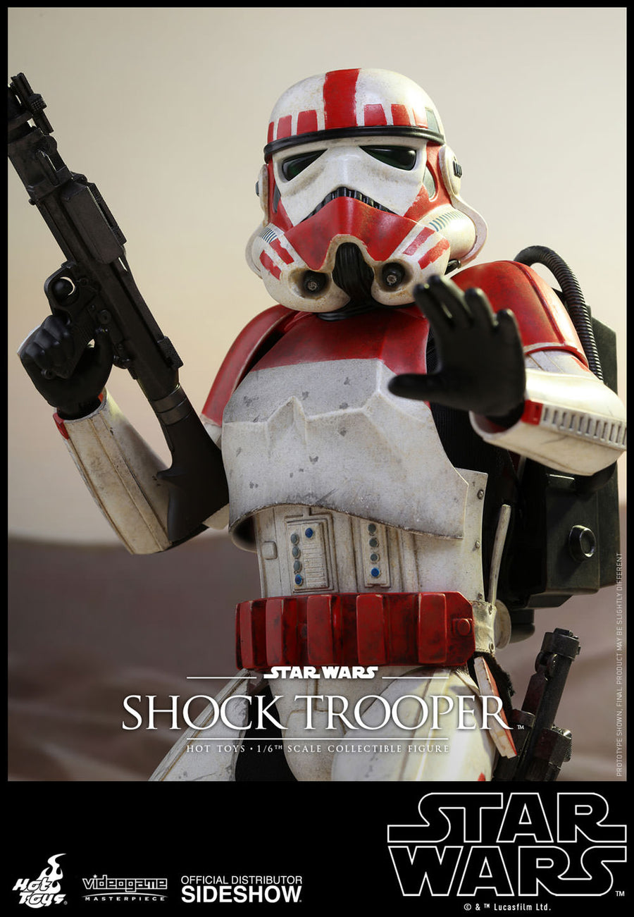 Star Wars Battlefront II - Imperial Shock Trooper - Displayed MINT IN BOX