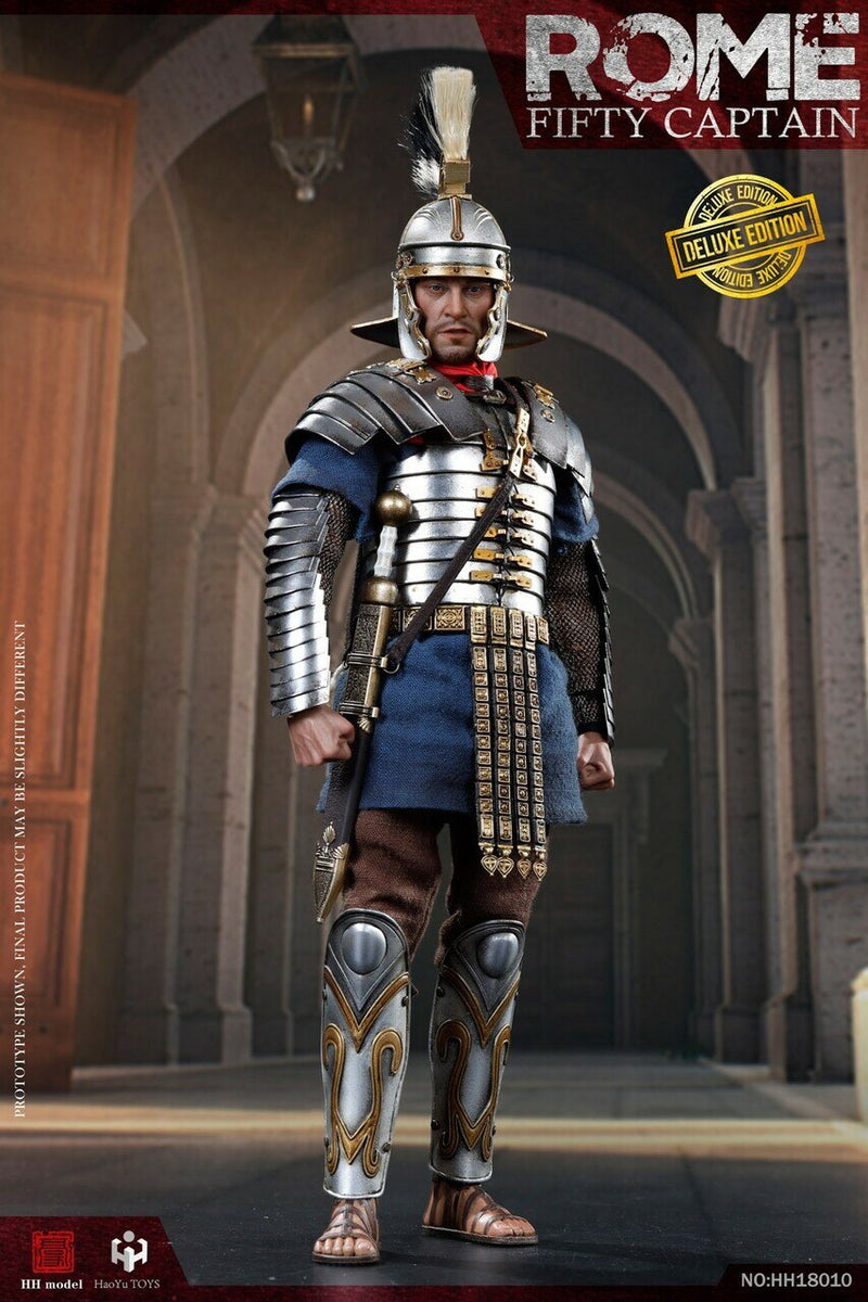 Rome Fifty Captain - Deluxe Edition - Red Shield w/Metal Spear