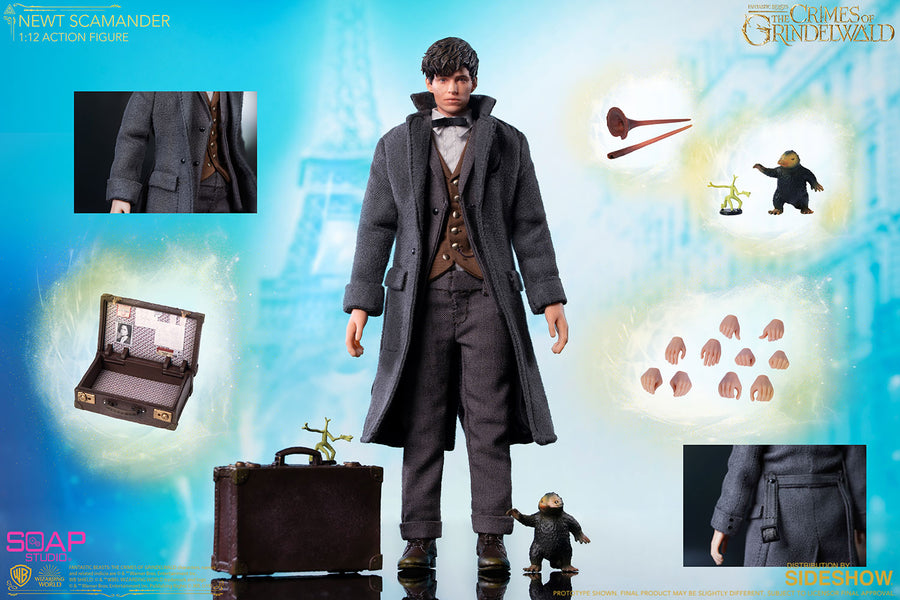 1/12 - Newt Scamander - Male Wand Holding Hand Set (Type 2)