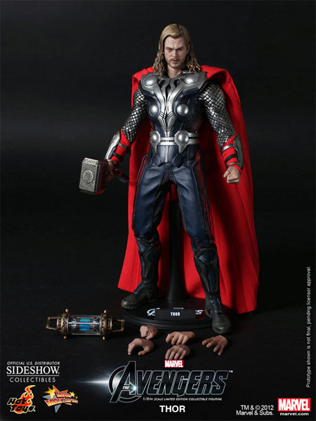 The Avengers - Thor - Male Head Sculpt w/Chris Hemsworth Likeness