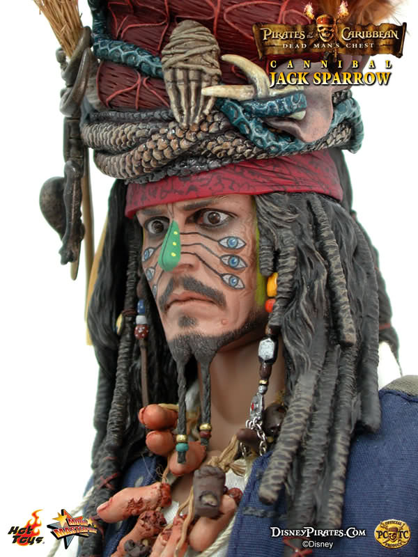 POTC DMC Jack Sparrow - Brown Pirates Hat